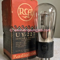 UY227 RCA (27, UX227, CX327) DHT preamp tube
