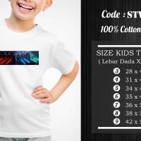 Kaos Anak Starwars - STW-012