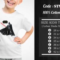 Kaos Anak Starwars - STW-016