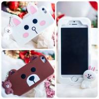 harga Softcase Line Cute + Gantungan Line - Iphone 5, 6 Tokopedia.com