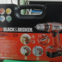 Black and Decker CP122K Cordless Drill 12V