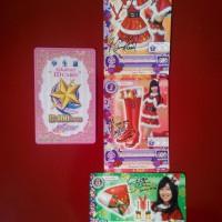 Jual Aikatsu ID Card PINK + Christmas Jingle Bell Lovely JKT48 EDITION Murah
