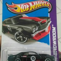 Hot Wheels 2013, 70 chevy chevelle SS