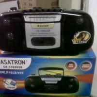 Radio Tape (kaset) Asatron CR1569 (4 band) USB MP3 SD Card