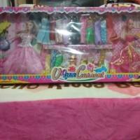 mainan barbie dressing up, mainan cewek