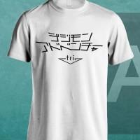 Kaos Digimon Tri White