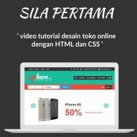 Modul Tutorial Lengkap Desain Web Toko Online Menggunakan CSS dan HTML