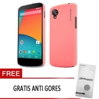 Capdase LG Nexus 5 Case, Karapace Jacket Touch (Orchid Pink)