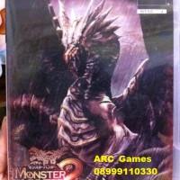 DVD Kaset Games Monster Hunter 2 DOS (PS2)