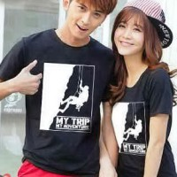 Kaos Couple / Baju Pasangan / Soulmate My Trip My Adventure MTMA 9941