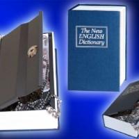 Jual Safe deposit book safe brankas bentuk buku medium 24 x 15.5 x 5.5cm Murah