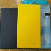 Nillkin Nokia Lumia 1520 Flip Leather Case Black N Yellow