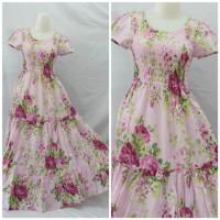 Long Dress Katun Paris Beauty
