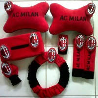 Jual Bantal Mobil (carset) AC Milan Murah