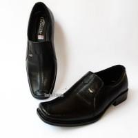 Sepatu Pantofel Kerja Kantor Pria Formal Crocodile Kulit Sapi Asli 008