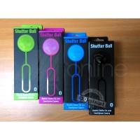 Shutter ball (bola tomsis) Bluetooth tomsis (baru, 4 warna)