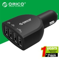 harga Orico Uca-4u 4-port(5v2.4a * 2 And 5v1a * 2) Universal Usb Car Charger Tokopedia.com