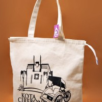 Premium Canvas Tote Bag - BC0308 Cirebon Hall