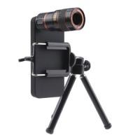 Harga smartphone telescope lens 8x optical zoom clamp tripod android   Hargalu.com