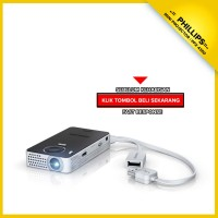Pocket Mini Projector Phillips PPX Picopix 4350