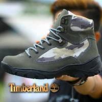 sepatu boots pria timberland army tracking gunung