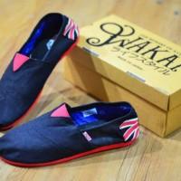 harga sepatu kuliah flat pria WAKAI GRADE ORIGINAL MURAH Tokopedia.com