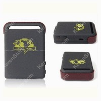 Global Smallest GPS Tracking Device GSM / GPRS / GPS Tracker TK102 Black