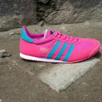 Adidas dragon pink list biru women