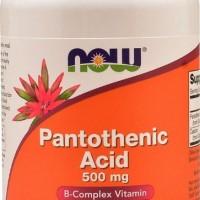 Obat jerawat terbukti 100% ampuh dan permanen : NOW Pantothenic Acid