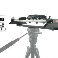 SLIDER KAMERA 100CM + SINGLE TRIPOD SEMUT DIY