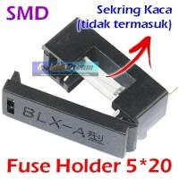 Fuse Holder PCB Kotak Sekring SMD BLX-A Sekering Kaca Gelas 5x20 mm