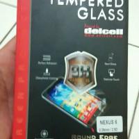 Tempered Glass Nexus 6 Motorola Merk Delcell