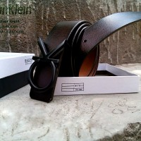 Ikat pinggang Kulit Asli Import Calvin Klein CK 03,Sabuk Kulit Formal