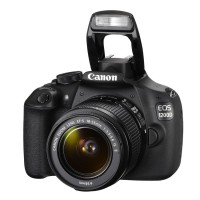 Canon EOS 1200D - 18 MP-Lensa Kit 18-55mm IS II