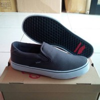 Vans Off The Top Slip On Rowley XL-2 Canvas, Charcoal.