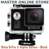 Brica Action Cam B-Pro 5 Alpha Editon Black Include Waterproof Case