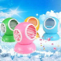 ac duduk mini fragrance fan USB Model Bulat New Design bladeless aroma
