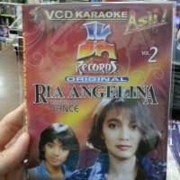 VCD KARAOKE RIA ANGELINA - BEST HITS JK VOL.2