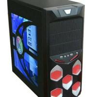 CASING PC AVARIS TRANSPARAN ALL SERIES + PSU 450WATT