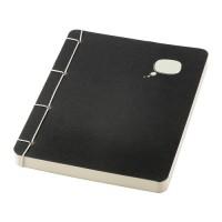 IKEA SARSKILD Buku Tulis 13x17 Cm, Hitam, 120 Halaman Tak Bergaris