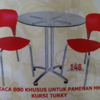 meja kaca meja bar kaca meja pameran dealing table kursi cafe kafe