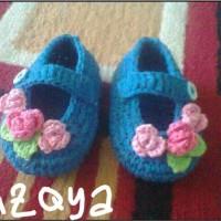 Sepatu Bayi Rajut (az 011)