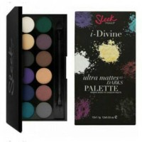 SLEEK I DIVINE EYESHADOW PALETTE ~ ULTRA MATTE V2 DARK