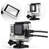 Protective Case Side Hole For GoPro 4 T2255