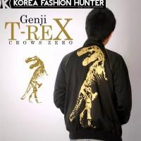 Jual Jaket T-rex Crows Zero , Tracktop T-rex , jaket murah genji Murah