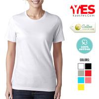 KaosYES Kaos Polos T-Shirt WANITA / LADIES
