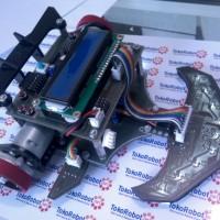 Robot Line Follower M2 LTracer Black Editions (No Batere) + CD