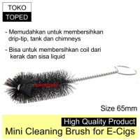 Mini Cleaning Brush for Vapor   coil drip tip rda liquid kanthal wire