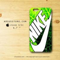 Nike Wallpaper Green iPhone Hard Case 4 4s 5 5s 5c 6 6s Plus