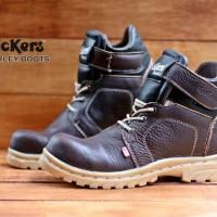 Sepatu Murah Pria Kickers Harley Safety Kulit Asli Grade Original# 427